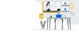 illustration e-learning